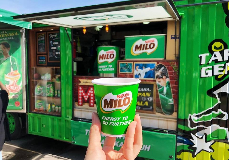 Milo车泡Milo秘诀大公开!跟着这样泡就对了!怪不得自己泡的都比不上Milo车的好喝啦!